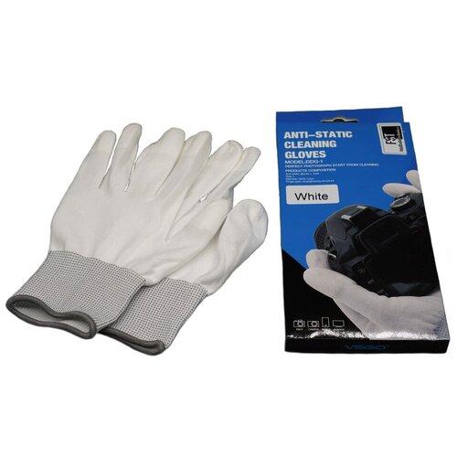Фото - Перчатки антистатические FST VSGO G-1, белые боксерские перчатки everlast clinch strike 7412b