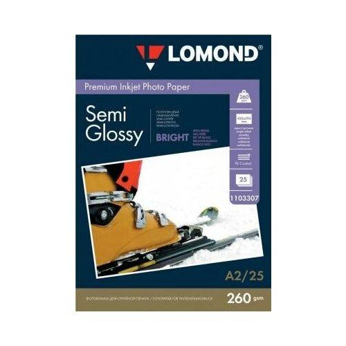 Фото - LOMOND Фотобумага LOMOND Односторонняя Супер Глянцевая Белая A4, 260 г/м2, 360л lomond 2020345