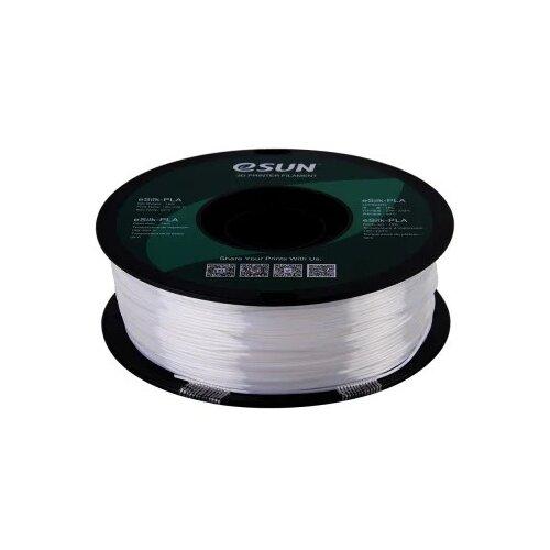 Фото - PLA пруток Esun eSilk-PLA 1.75 мм, 1 кг, белый pla пруток esun 1 75 мм желтый 1 кг