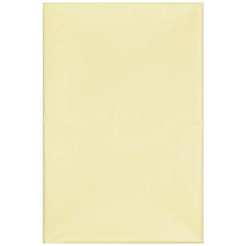 Наматрасник клеенка подкладная с ПВХ покрытием для кроватки , коляски без окантовки 70х100 см желтый