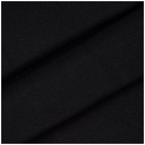 28952 Ткань ' Интерлок' 100% х/б (пл. 175г/м2 ) 50см*42см + -3см, цв. черный (9072) 28970 кулирная гладь звезды 100% х б пл 145г м2 48см 50см 2см цв син 9000 7007