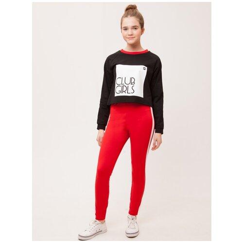 Спортивный костюм Nota Bene размер 140, черный/красный