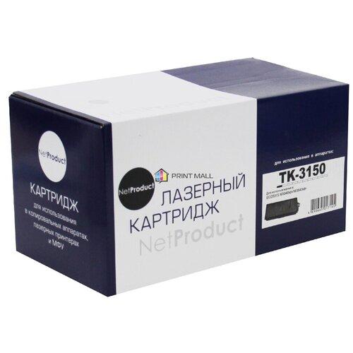 Картридж NetProduct для Kyocera ECOSYS M3040idn, M3540idn, (14500 стр) TK-3150 с чипом