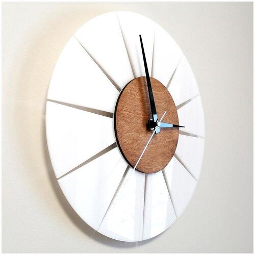 Стильные настенные часы в скандинавском стиле