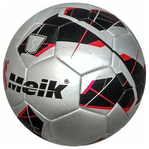 Мяч футбольный Meik-068-1 2-слоя, TPU+PVC 2.7, 410-420 гр., машинная сшивка