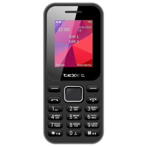 Мобильный телефон Texet 122 Черный