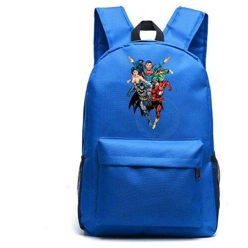 Рюкзак DC синий №2