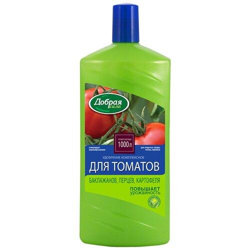 Фото - Удобрение жидкое добрая сила для томатов, баклажанов, сладкого перца 1 Л (1/9) почвогрунт для томатов перца и баклажанов богатырь 20л