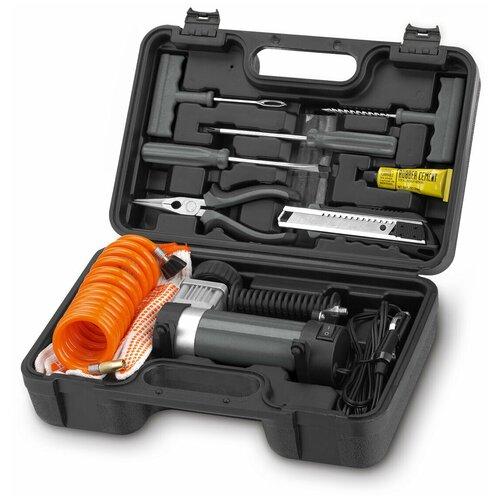 Фото - Автомобильный компрессор DAEWOO DW55 Expert пылесос автомобильный daewoo power products davc100 черный оранжевый