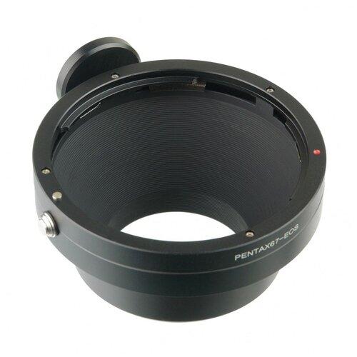 Фото - Кольцо переходное Pentax 67 на Canon EOS кольцо переходное falcon eyes leika r на eos