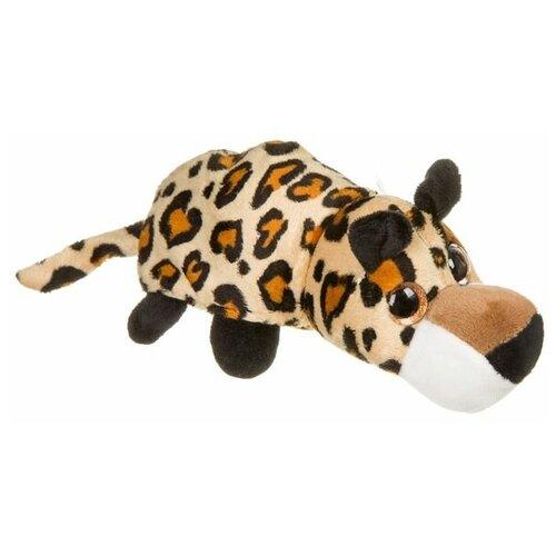 Игрушка-перевертыш Bondibon 2 в 1, Милота, Леопард-тигр, 17 см (ВВ3972)