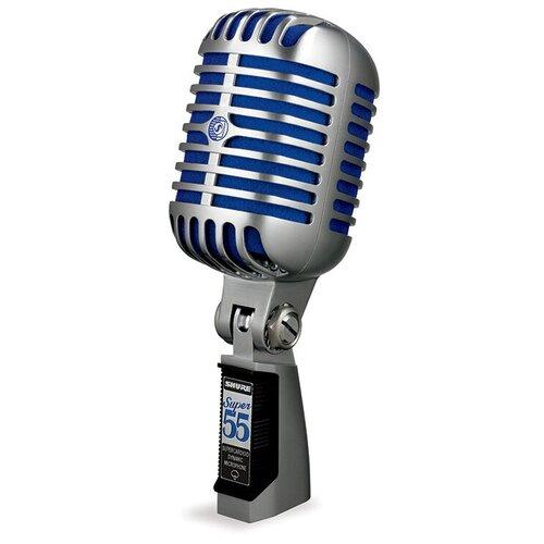 Винтажный динамический вокальный микрофон Shure SUPER 55