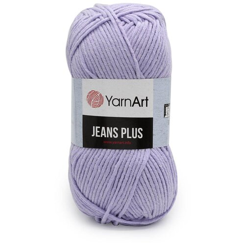 Пряжа YarnArt 'Jeans Plus' 100гр 160м (55% хлопок, 45% полиакрил) (89 фиолетовый) 5 шт пряжа yarnart пряжа yarnart jeans plus цвет 53 черный