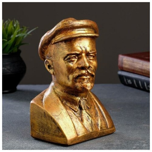 Бюст Ленина, бронза 14х21см 4197403