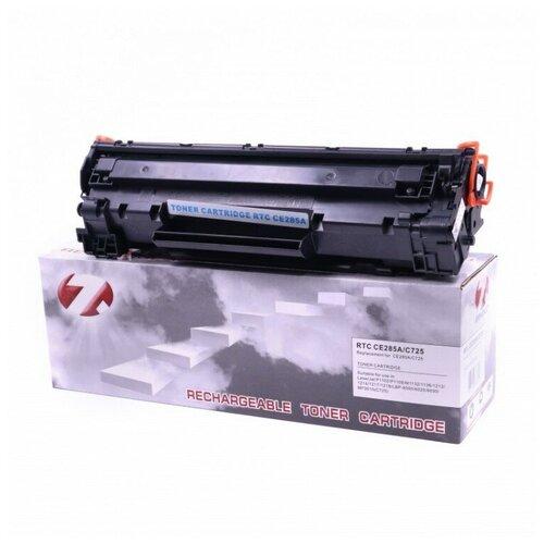 Фото - Тонер-картридж 7Q Seven Quality ce285a, черный, для лазерного принтера, совместимый картридж 7q seven quality w1106a wc совместимый