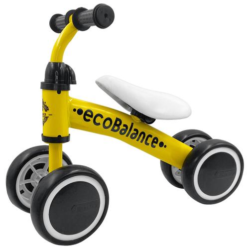 Беговел EcoBalance Baby, желтый