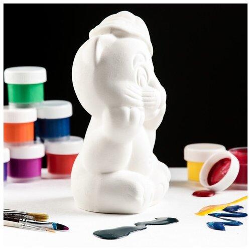 Купить Копилка-раскраска Керамика ручной работы Хулиган , под роспись, 17 см, Роспись предметов