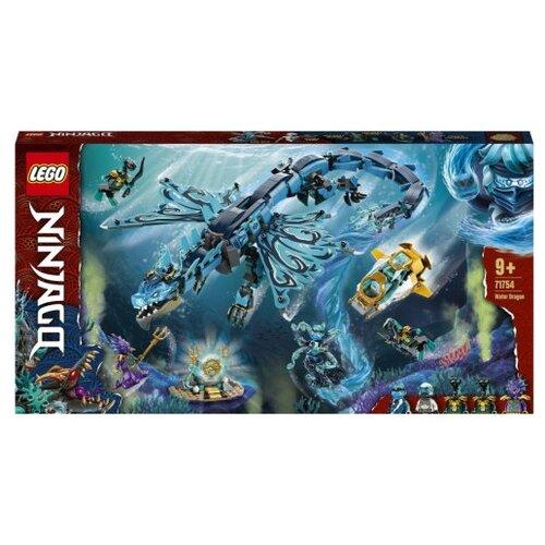 Фото - Конструктор LEGO NINJAGO 71754 Водный дракон конструктор lego ninjago 70599 дракон коула