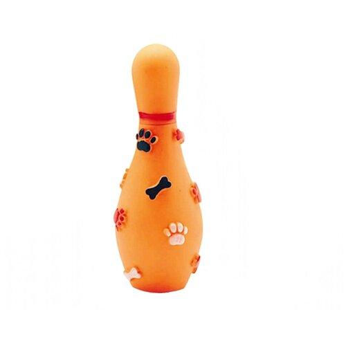 Игрушка Lilli Pet боулинг С пищалкой для собак, 19см