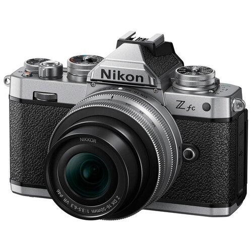 Фото - Беззеркальный фотоаппарат Nikon Z fc Kit 16-50 DX VR фотоаппарат nikon z5 kit 24 50 f 4 6 3 c адаптером ftz