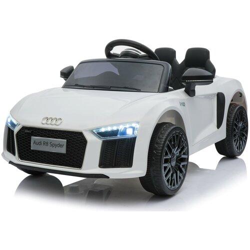 Купить Детский электромобиль Audi R8 Spyder Белый, Harleybella, Электромобили
