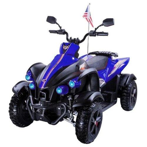детский электроквадроцикл RiverToys Электроквадроцикл P222PP, синий