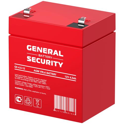 General Security Аккумулятор General Security GS 4,5-12