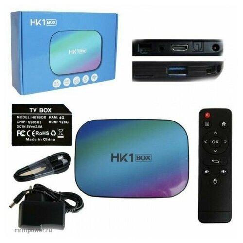 Медиа-приставка HK1 Box - 4Gb/32Gb Android 9,0 Медиаплеер Smart tv IPTV OTT приставка 4K HD H.265