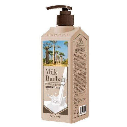 Купить MilkBaobab PWS Шампунь MilkBaobab Perfume Shampoo White Musk (500 мл), Milk Baobab