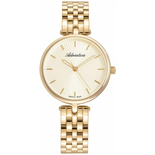 Швейцарские часы наручные женские Adriatica A3743.1111Q часы наручные швейцарские женские adriatica a3188 1111q