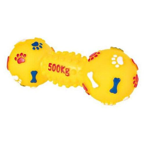 Фото - Игрушка для собак TRIXIE гантель средняя с лапками 19 см trixie гантель trixie для собак средняя 19 см
