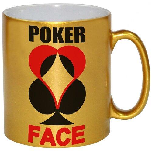Золотая кружка Poker face , Покер фэйс
