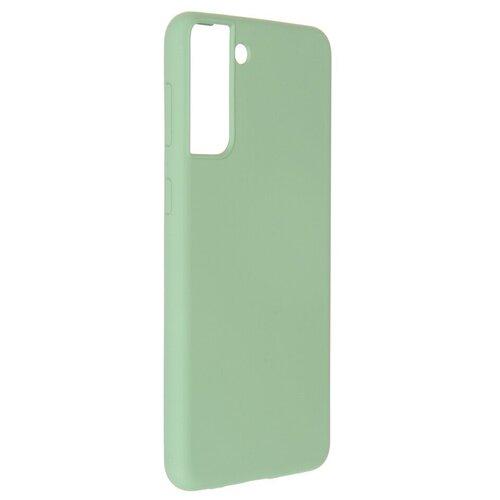 Фото - Чехол Pero для Samsung Galaxy S21 Plus Liquid Silicone Green PCLS-0039-GN чехол pero для samsung s21 plus liquid silicone yellow pcls 0039 yw