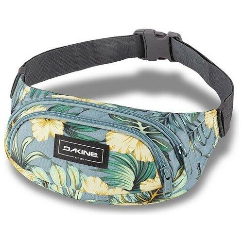 Поясная сумка женская DAKINE, текстиль, зелeный
