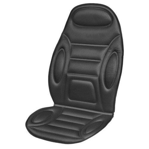 Подогрев сиденья со спинкой SKYWAY с терморегулятором (2 режима) 116х52см 12V Черный S02201007