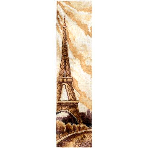 Набор для вышивания сделай своими руками арт.З-52 Закладки. Париж 5,5х22 см