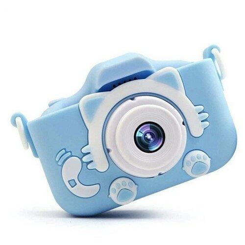 Фото - Детский цифровой фотоаппарат, голубой детский растущий стул конёк горбунёк