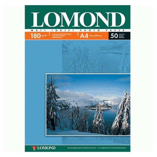 Фото - Фотобумага Lomond А4 180g/m2 матовая односторонняя 50 листов 102014 фотобумага lomond a3 230g m2 глянцевая односторонняя 50 лист