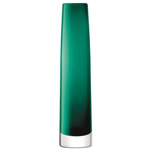Ваза LSA International Stems, 30 см, изумрудная ваза lsa international utility 19 см синяя