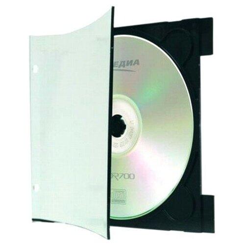 Фото - Коробка на 1 CD slim тонкая 3мм А-Медиа ClipTray гришина а ред зублс раскраска 12188
