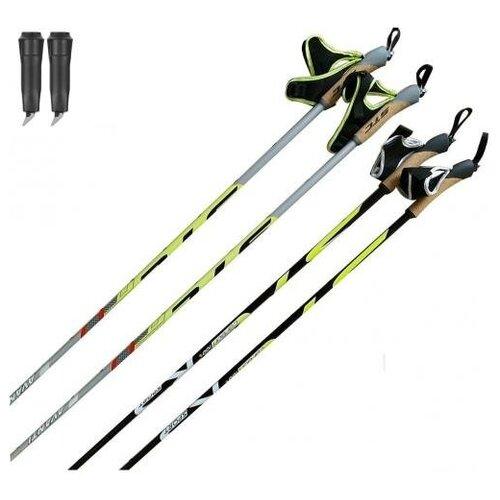 Фото - Палки для лыжероллеров STC Avanti Carbon с твердосплавным наконечником SWIX 10mm RDHH922 130-145 см 130 см лыжные палки stc алюминий с твердосплавным наконечником stc 170 170 см