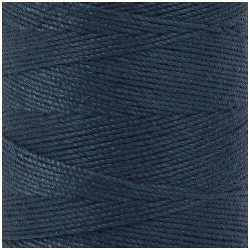 Швейные нитки Gamma (полиэстер), 1000 я, 912 м, №318 синий (20s/3)