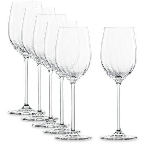 Фото - Набор из 6-ти бокалов для белого вина Prizma объем 296 мл, 7,4x21,8 см, хрустальное стекло, Schott Zwiesel, 121 569-6 набор бокалов для красного вина schott zwiesel prizma 561 мл 6 шт