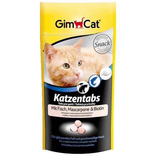 Витамины GimCat Katzentabs с маскарпоне и биотином 425 г