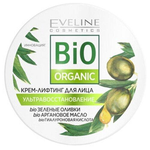 Крем-лифтинг для лица Eveline Cosmetics Bio Organic Восстанавливающий 100 мл крем для лица ночной eveline bio lifting восстанавливающий против морщин 75 мл