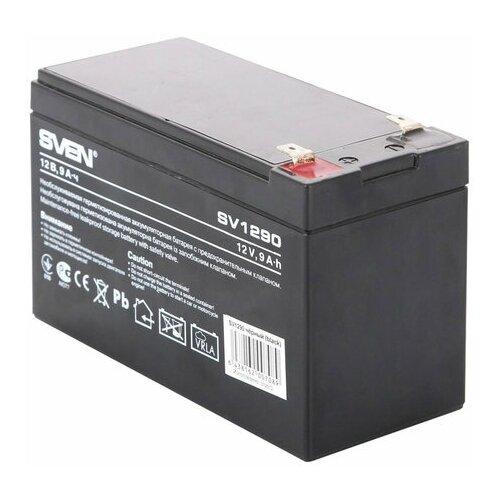 Аккумуляторная батарея для ИБП любых торговых марок 12 В 9 Ач 151х65х98 мм SVEN SV-0222009 1 шт.