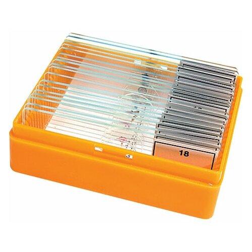 Набор готовых микропрепаратов LEVENHUK N18 NG (18 образцов стекла) 29276 1 шт.