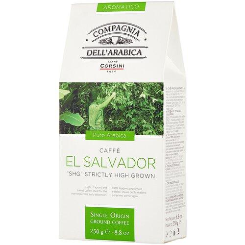 Фото - Кофе молотый Compagnia Dell` Arabica El Salvador SHG, 250 г кофе молотый compagnia dell arabica brasil santos 125 г