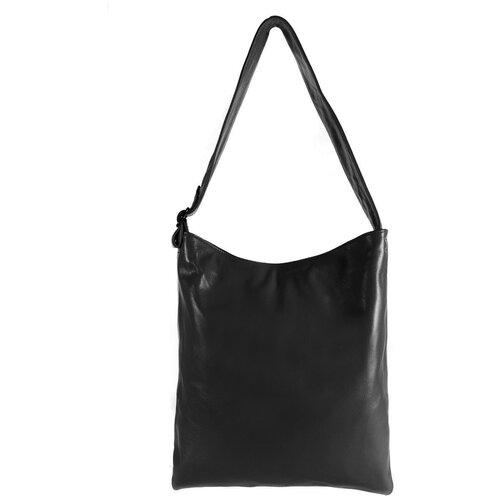 Сумка/Сумка женская/Сумка женская натуральная кожа/MAYGER/А-СВ-893/черный/модель мешок/карман для ноутбука