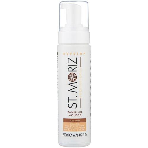 Купить Мусс для автозагара St.Moriz Professional Tanning Mousse Medium 200 мл